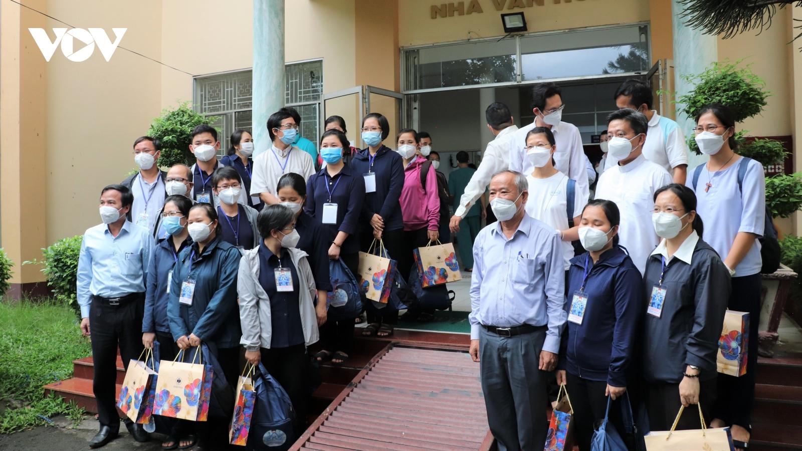 Thêm 23 tình nguyện viên tôn giáo hỗ trợ tuyến đầu chống dịch tại TP.HCM