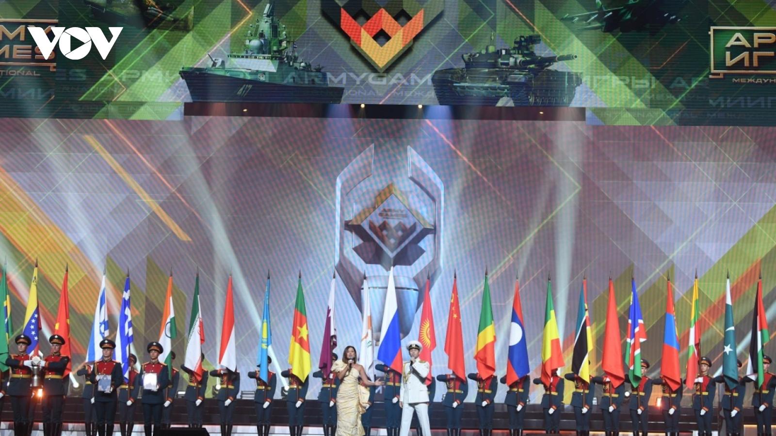 Đoàn Quân đội nhân dân Việt Nam ghi dấu ấn lớn tại Army Games 2021