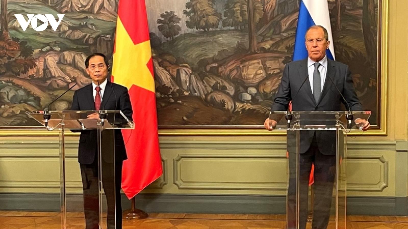 Tạo xung lực mới cho cho quan hệ đối tác chiến lược toàn diện Việt Nam – Liên bang Nga
