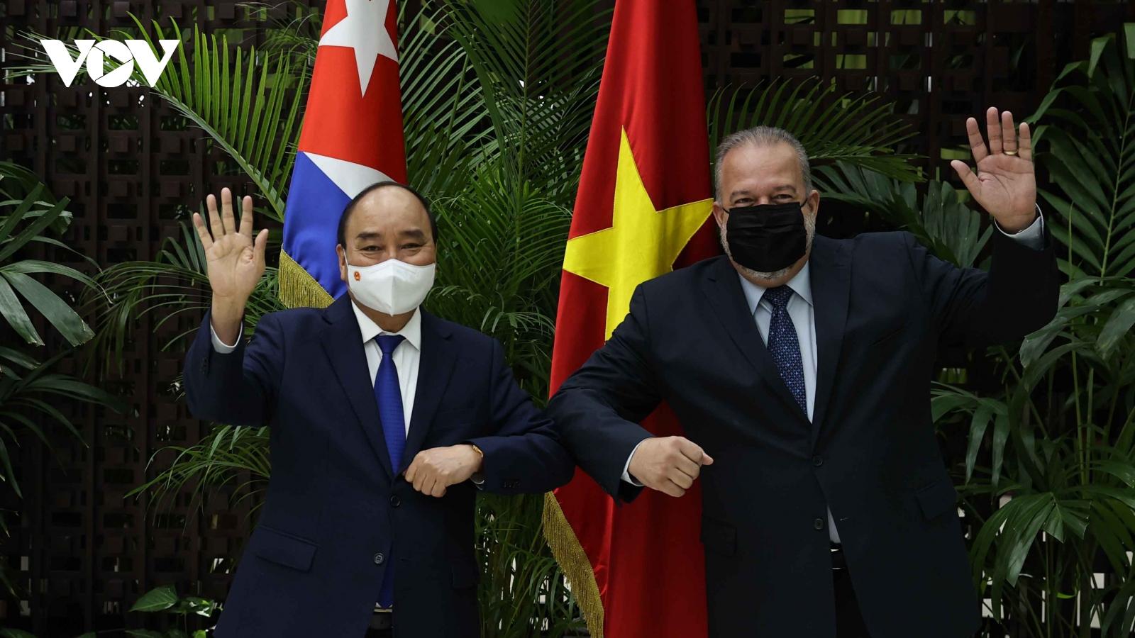 Toàn cảnh chuyến thăm chính thức Cuba của Chủ tịch nước Nguyễn Xuân Phúc