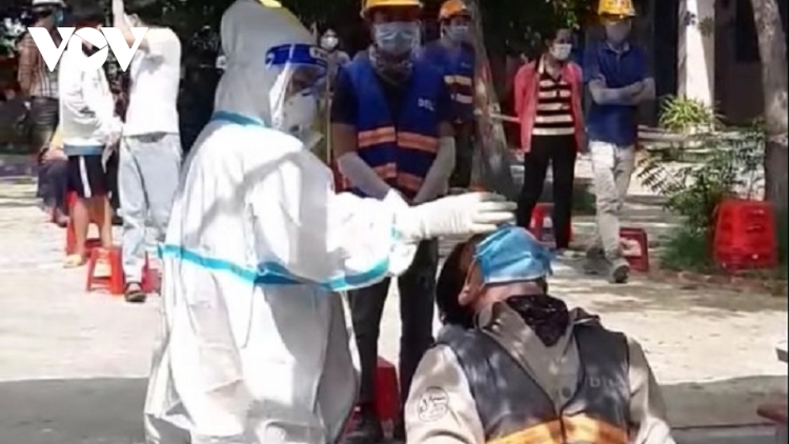 Ninh Thuậnkhẩn trương xét nghiệm tầm soát công nhân sinh sống ở huyện Ninh Phước