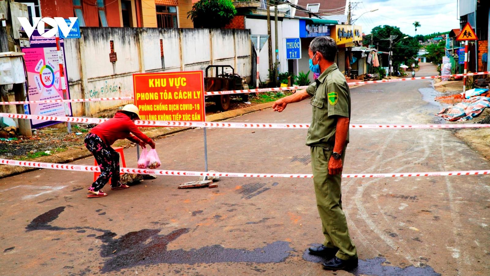 Giãn cách huyện Đắk Mil theo Chỉ thị 16 sau khi xuất hiện ca mắc Covid-19 cộng đồng