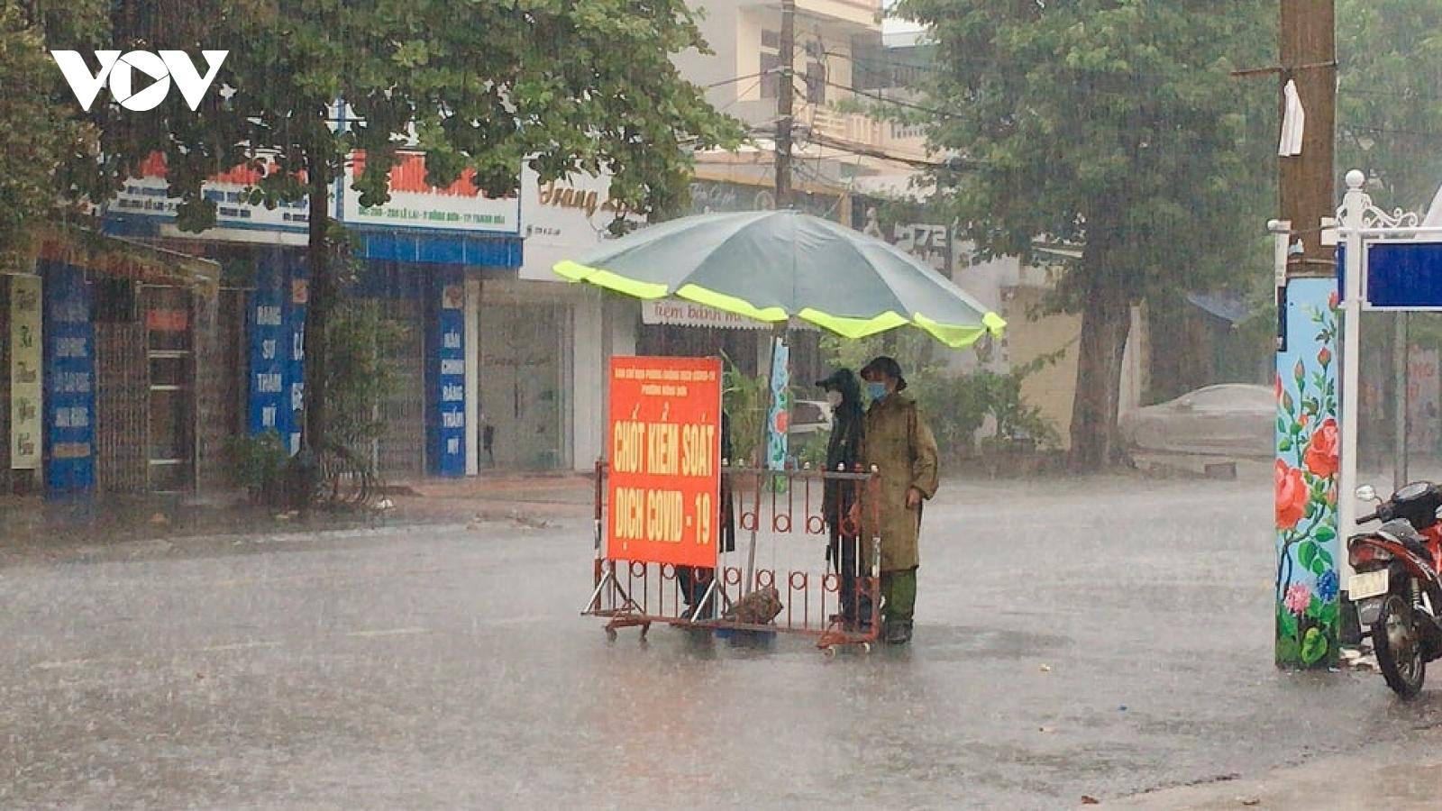 Tiếp tục giãn cách xã hội TP Thanh Hoá và huyện Nông Cống