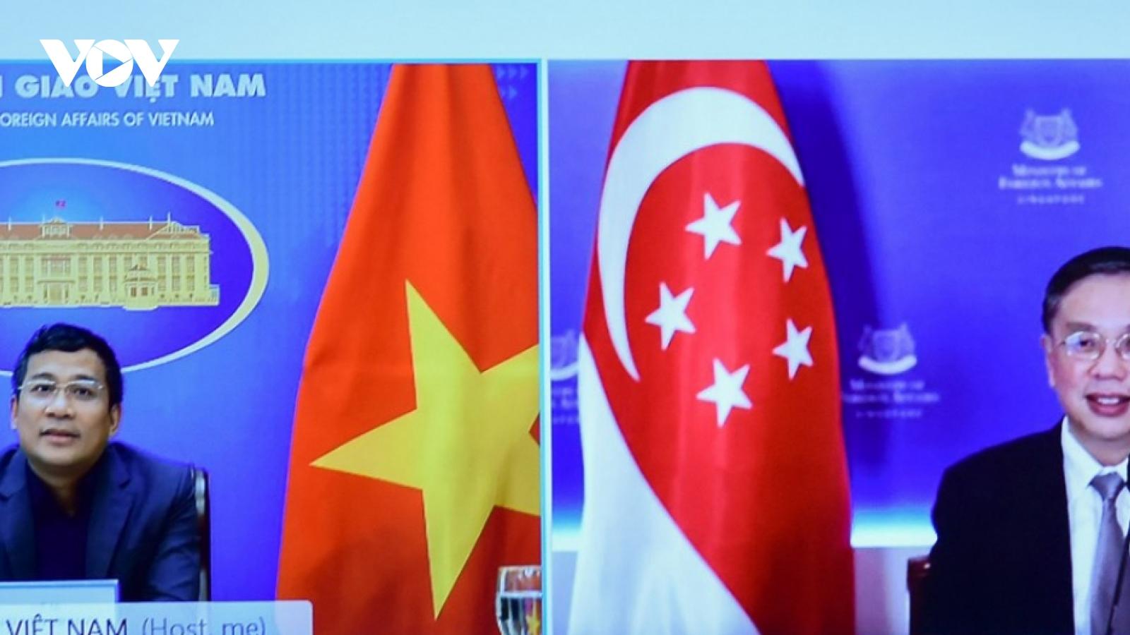 Vietnam, Singapore share experience in COVID-19 combat