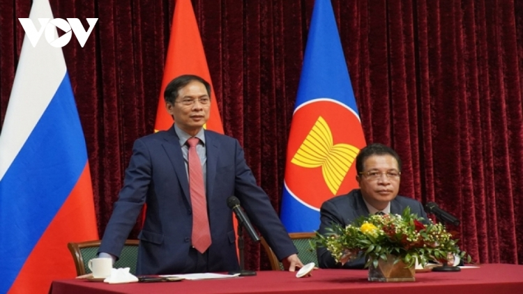 Foreign Minister meets Vietnamese expatriates in Russia