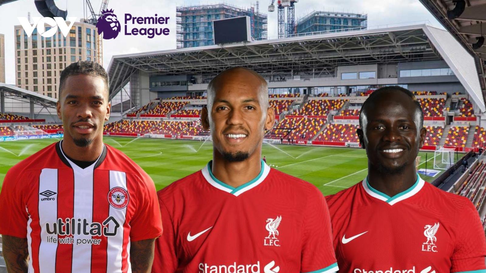 Dự đoán kết quả, đội hình xuất phát trận Brentford - Liverpool
