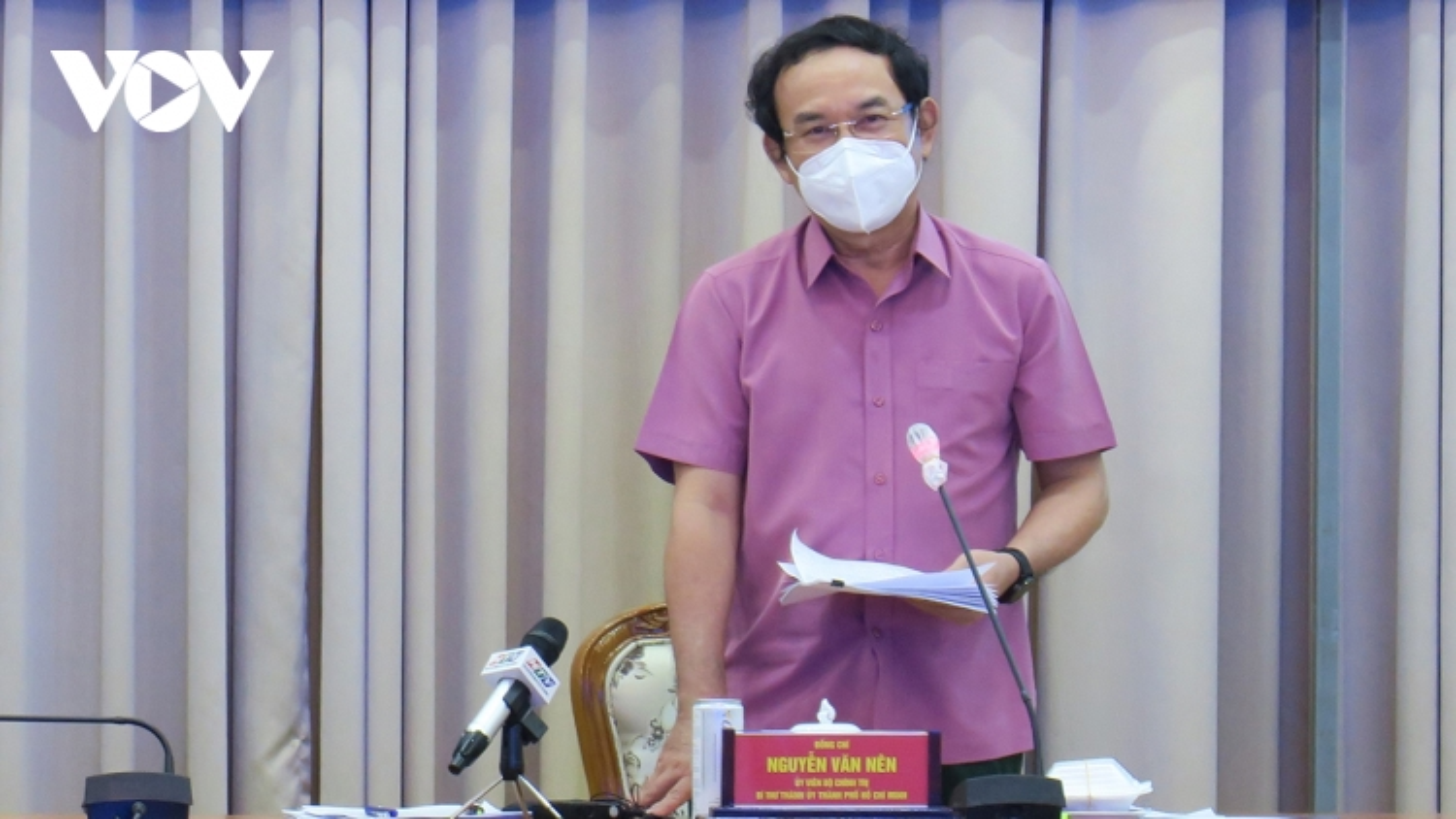 Bí thư Thành uỷ TP.HCM lắng nghe góp ý của chuyên gia về phục hồi kinh tế