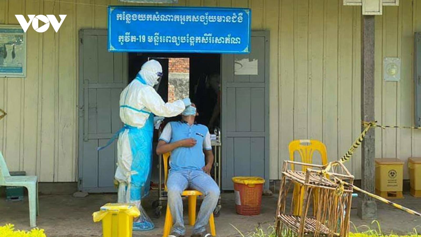 Bộ y tế Campuchia cho phép các khách sạn chăm sóc, điều trị bệnh nhân Covid-19 nhẹ