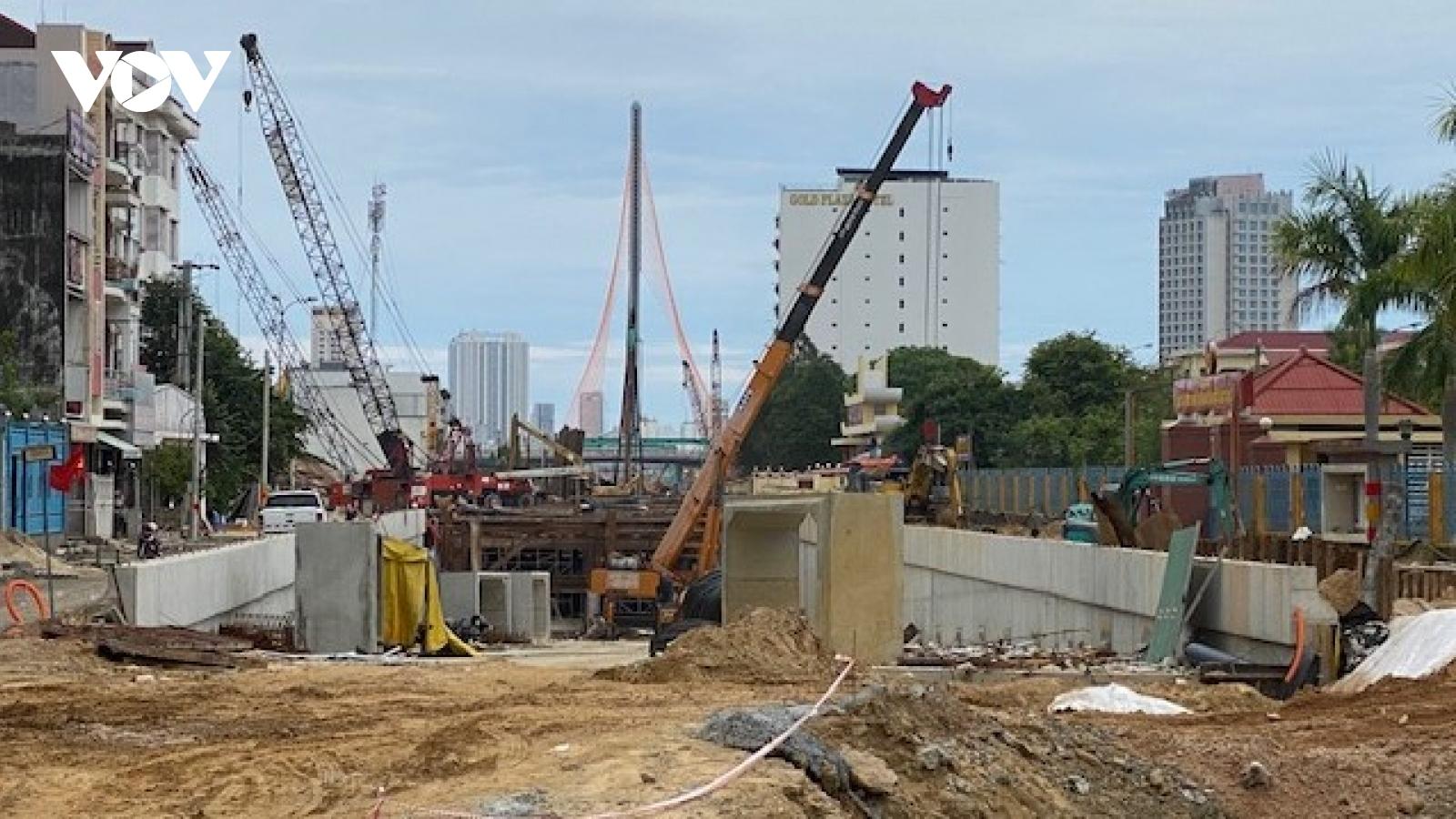 25 công trình trọng điểm tại Đà Nẵng tăng tốc, bảo đảm phòng chống dịch