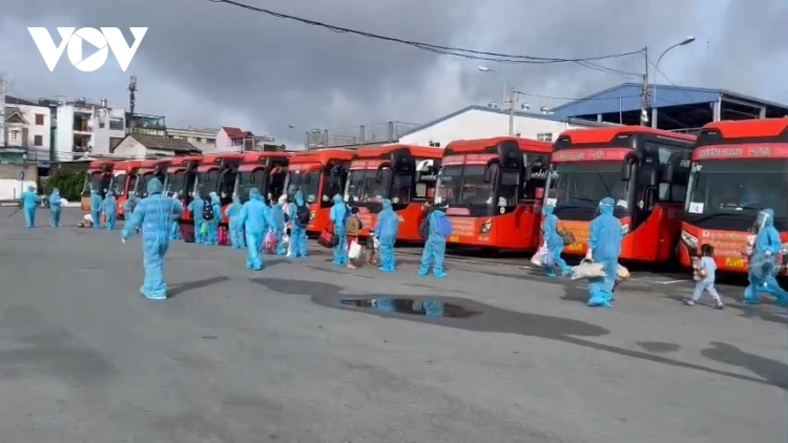 Bạc Liêu đón hơn 200 công dân đầu tiên từ vùng dịch về quê
