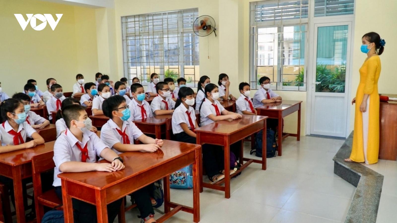 Đà Nẵng lên phương án đón 14.000 học sinh và giáo viên trở về thành phố