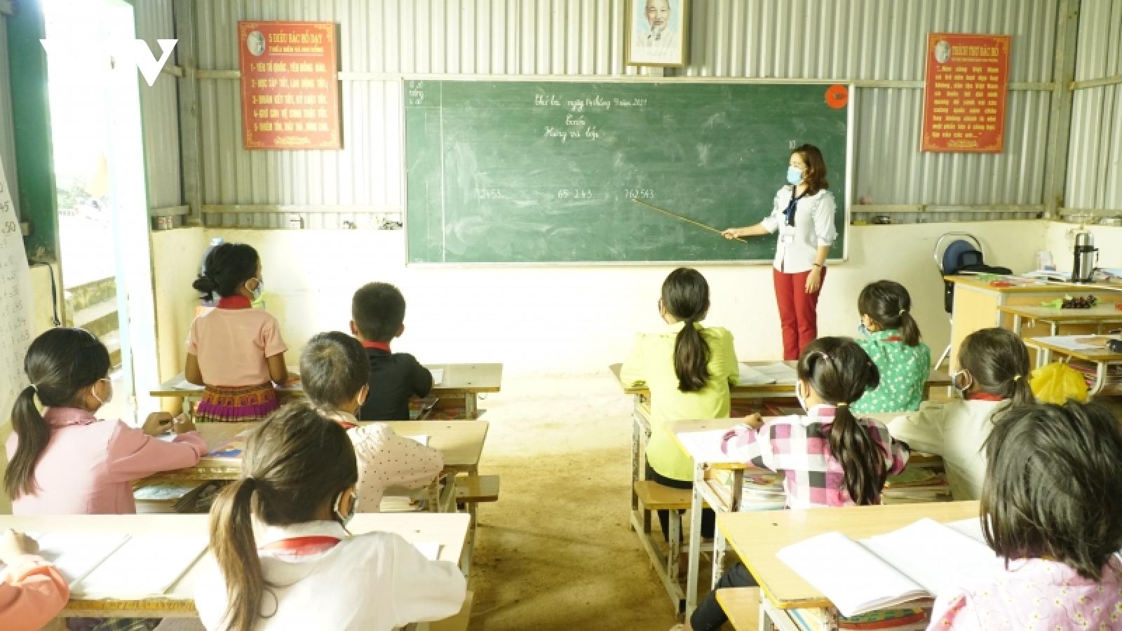Nhiều thách thức với giáo dục vùng khó ở huyện vùng cao Điện Biên Đông