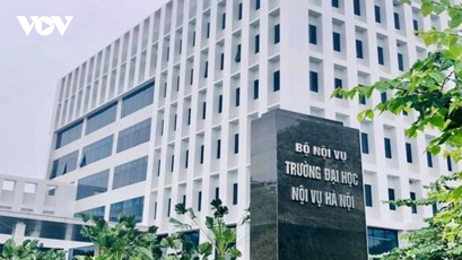 Điểm chuẩn ĐH Nội vụ Hà Nội tăng từ 2-4 điểm so với năm ngoái, cao nhất là 28 điểm