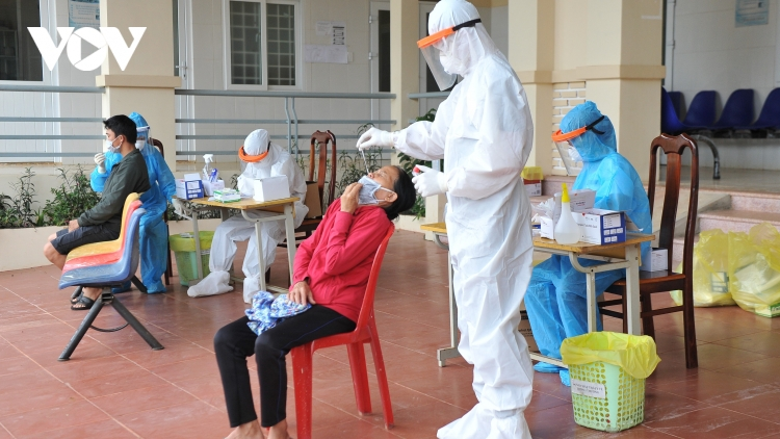 Thêm chùm ca bệnh mới, thị xã Buôn Hồ (Đắk Lắk) thần tốc truy vết các F0