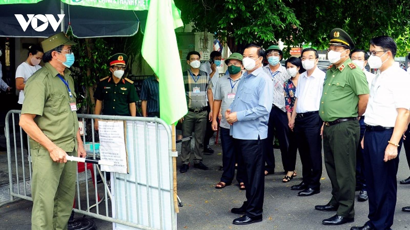 4 đợt giãn cách để đưa Thủ đô Hà Nội sang giai đoạn bình thường mới