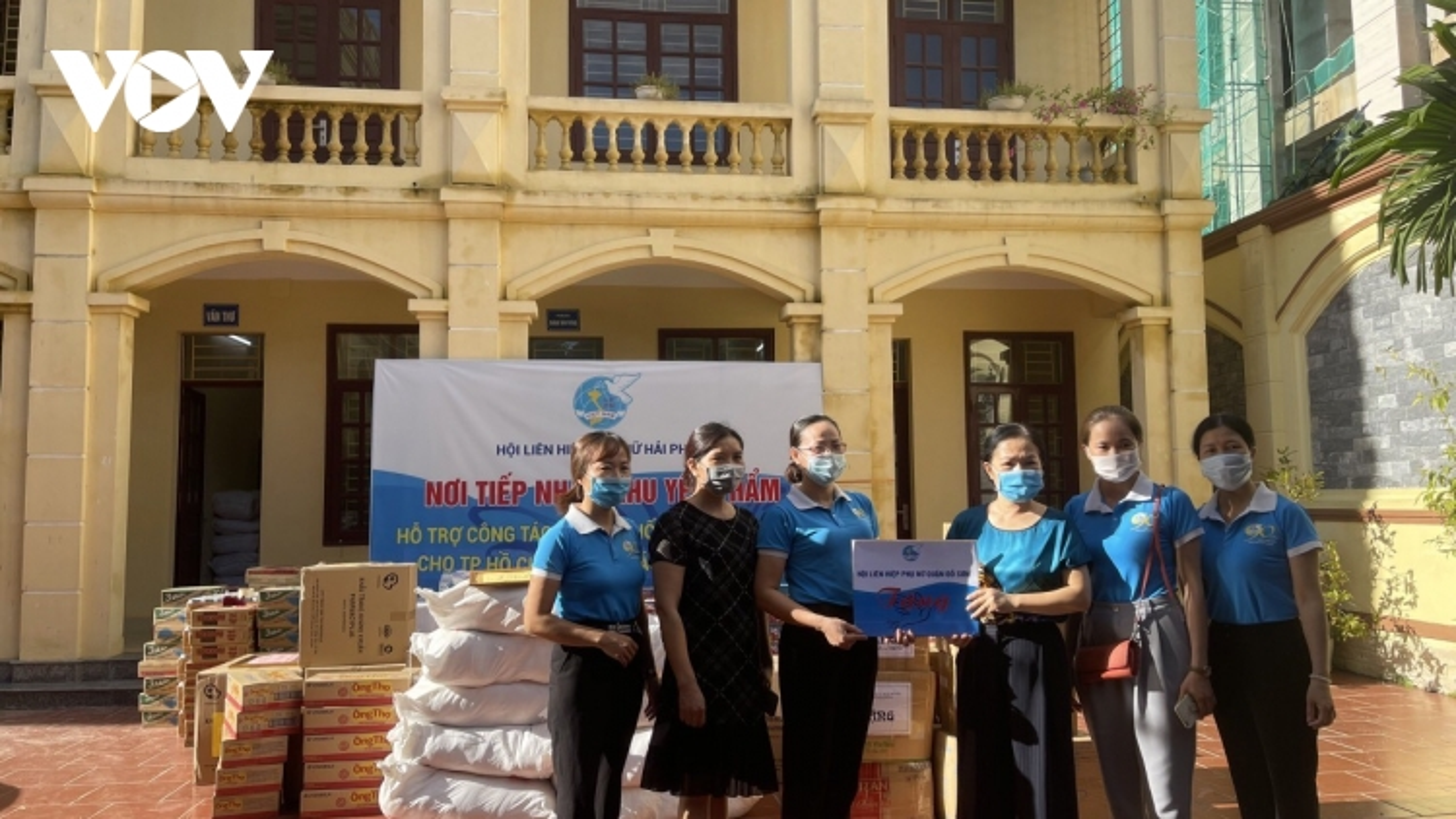 Hải Phòng chi gần 6 tỉ đồng hỗ trợ người dân địa phương sốngtại TP.HCM gặp khó khăn