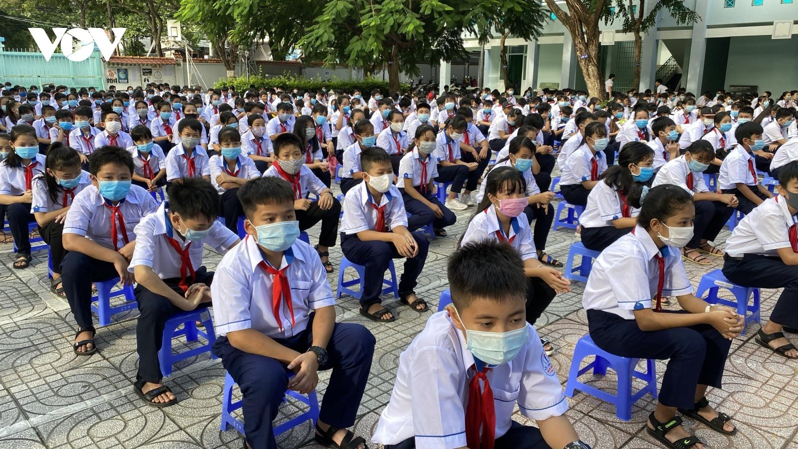 Học sinh tiểu học và GDTX tỉnh Bà Rịa - Vũng Tàu sẽ bắt đầu năm học mới vào 20/9