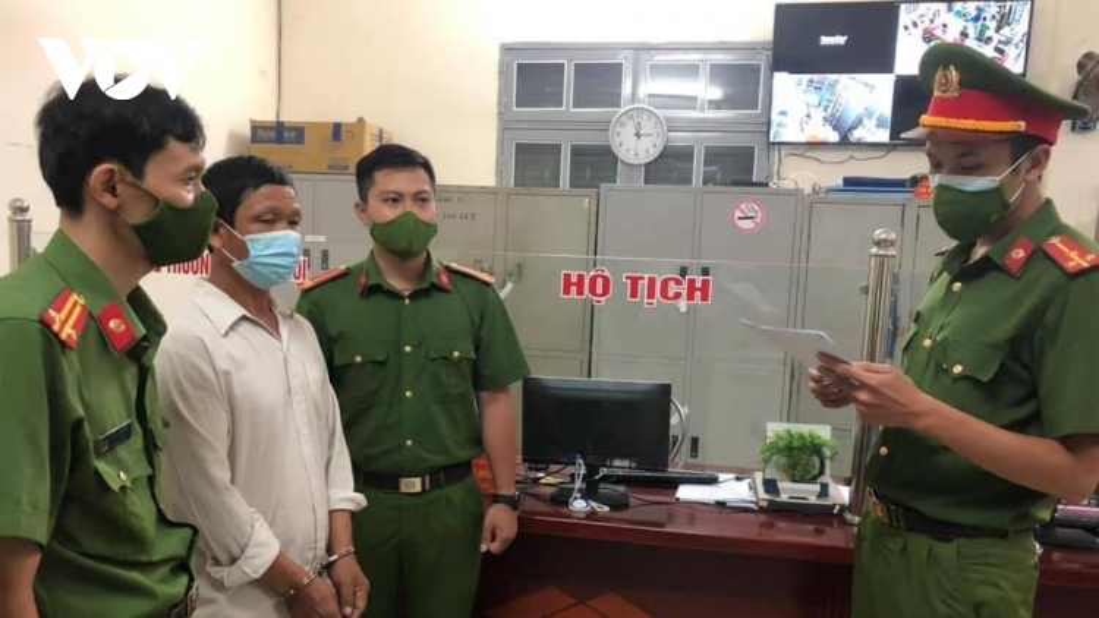 Nguyên trưởng bản ở Sơn La bị bắt vì tham ô tài sản