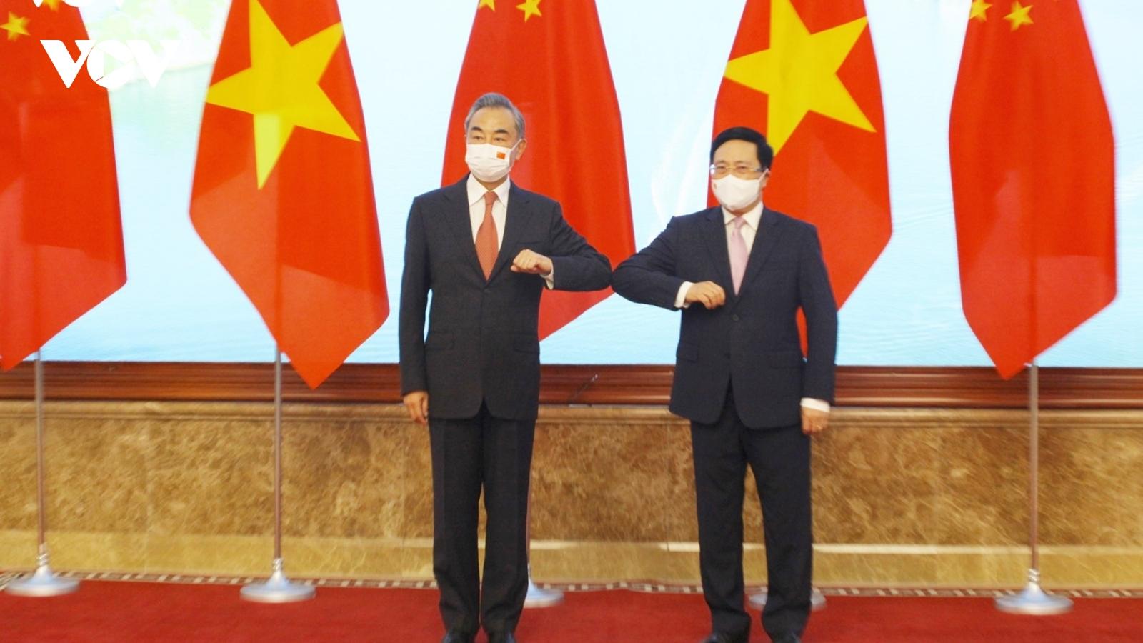 Phó Thủ tướng Phạm Bình Minh tiếp Ngoại trưởng Trung Quốc - Vương Nghị