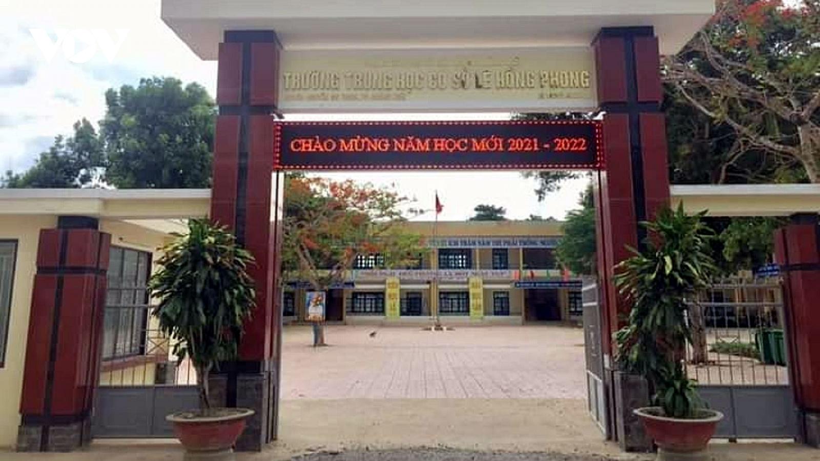 Quảng Ngãi chỉ tổ chức khai giảng tại 1 điểm trường
