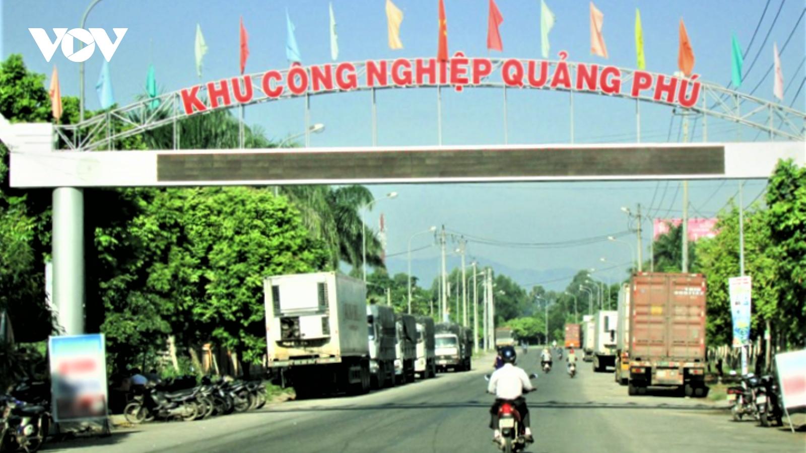 Thêm 1 khu công nghiệp tại Quảng Ngãi ghi nhận ca mắc Covid-19
