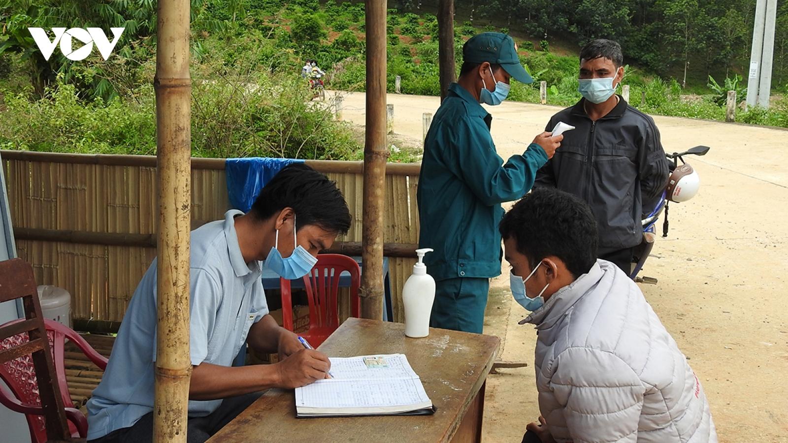 Phòng, chống dịch COVID-19: Kon Tum cẩn trọng từ thôn làng
