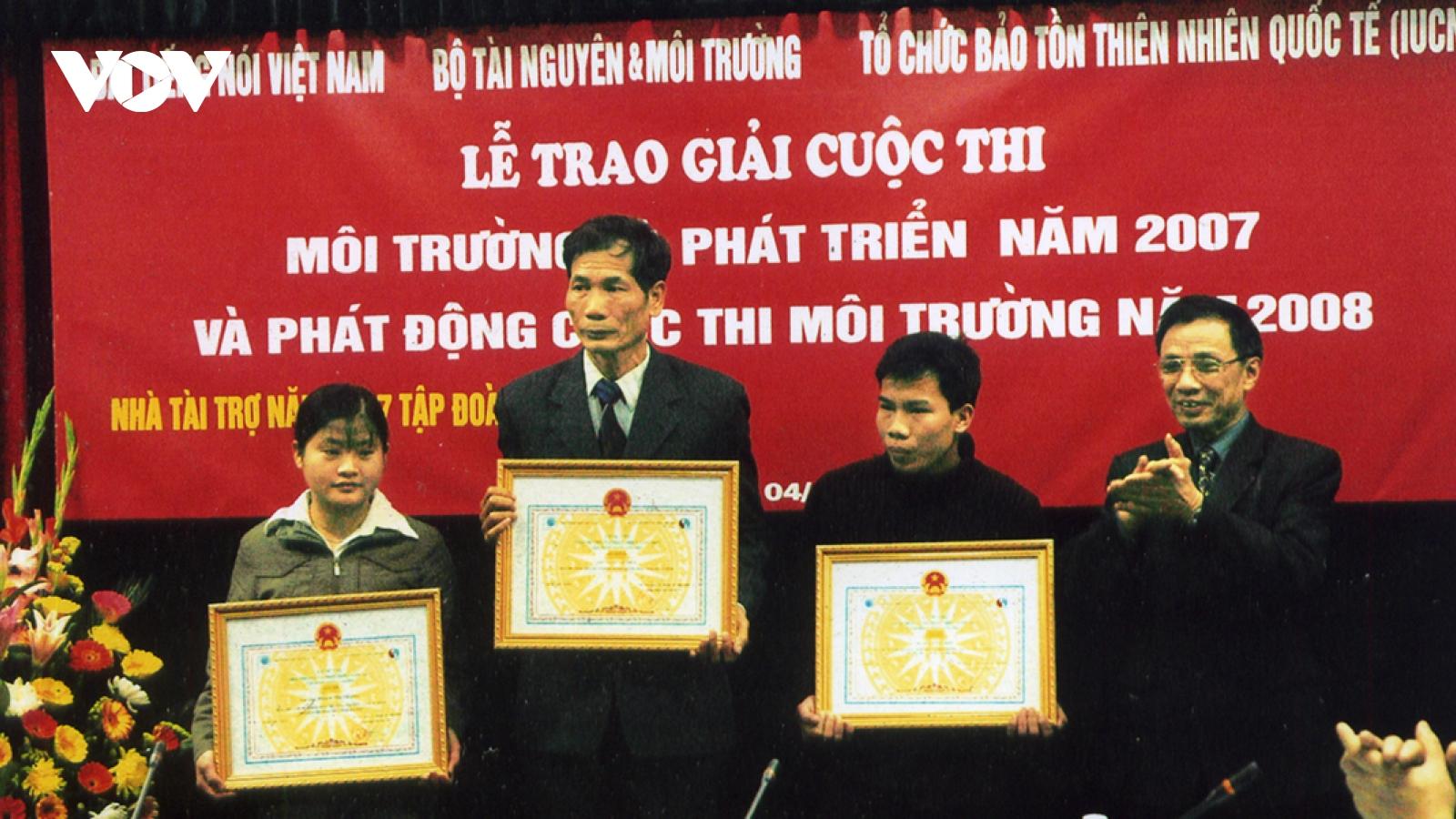 """""""Cái duyên"""" với Đài Tiếng nói Việt Nam"""