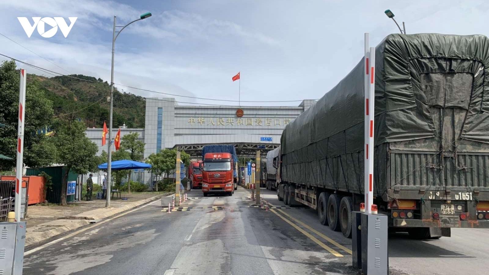 Tạm dừng thông quan 3 ngày tại cửa khẩu Ái Điểm- Chi Ma