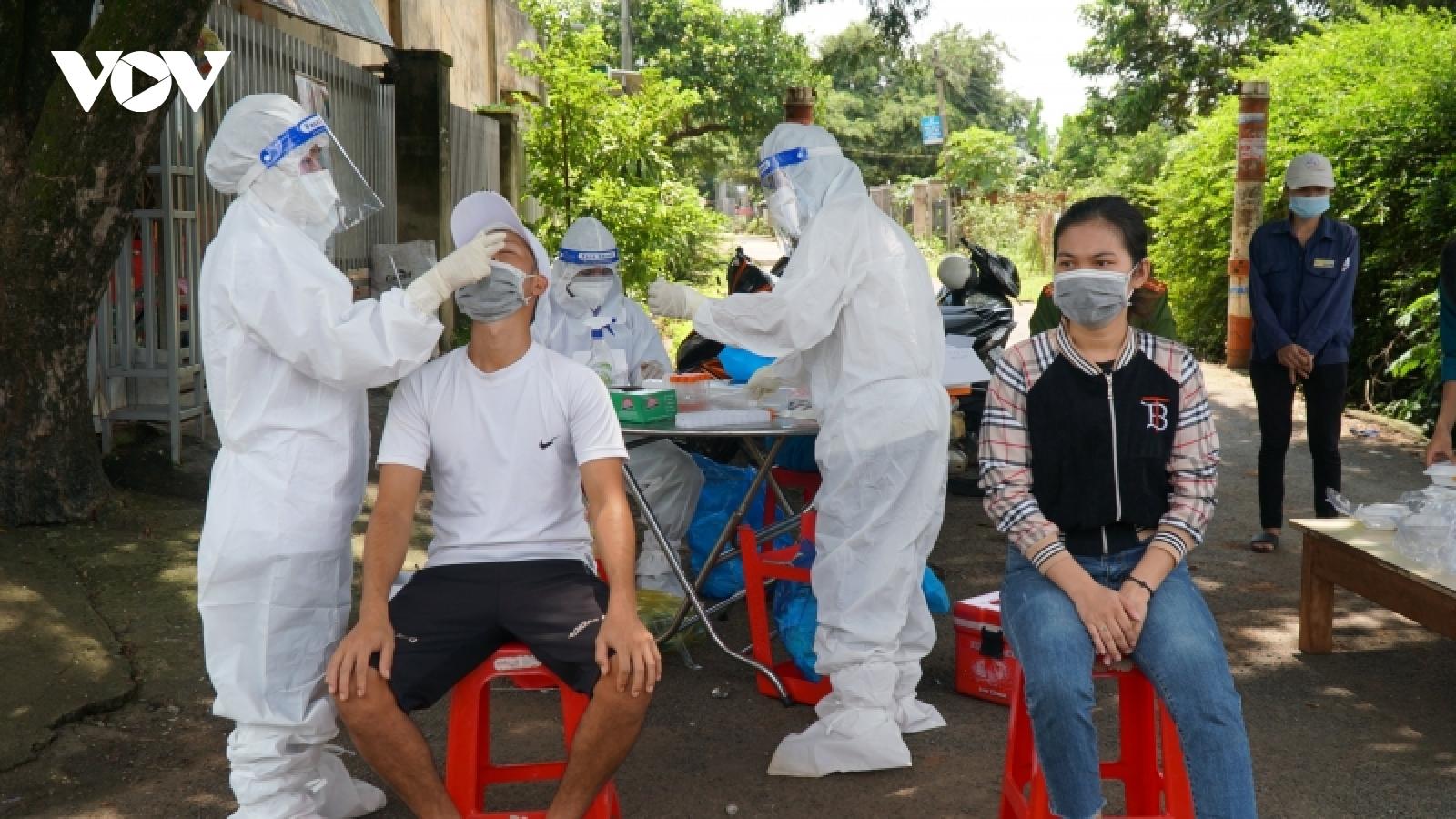 Thành phố Buôn Ma Thuột ghi nhận chùm ca bệnh Covid-19 chưa rõ nguồn lây