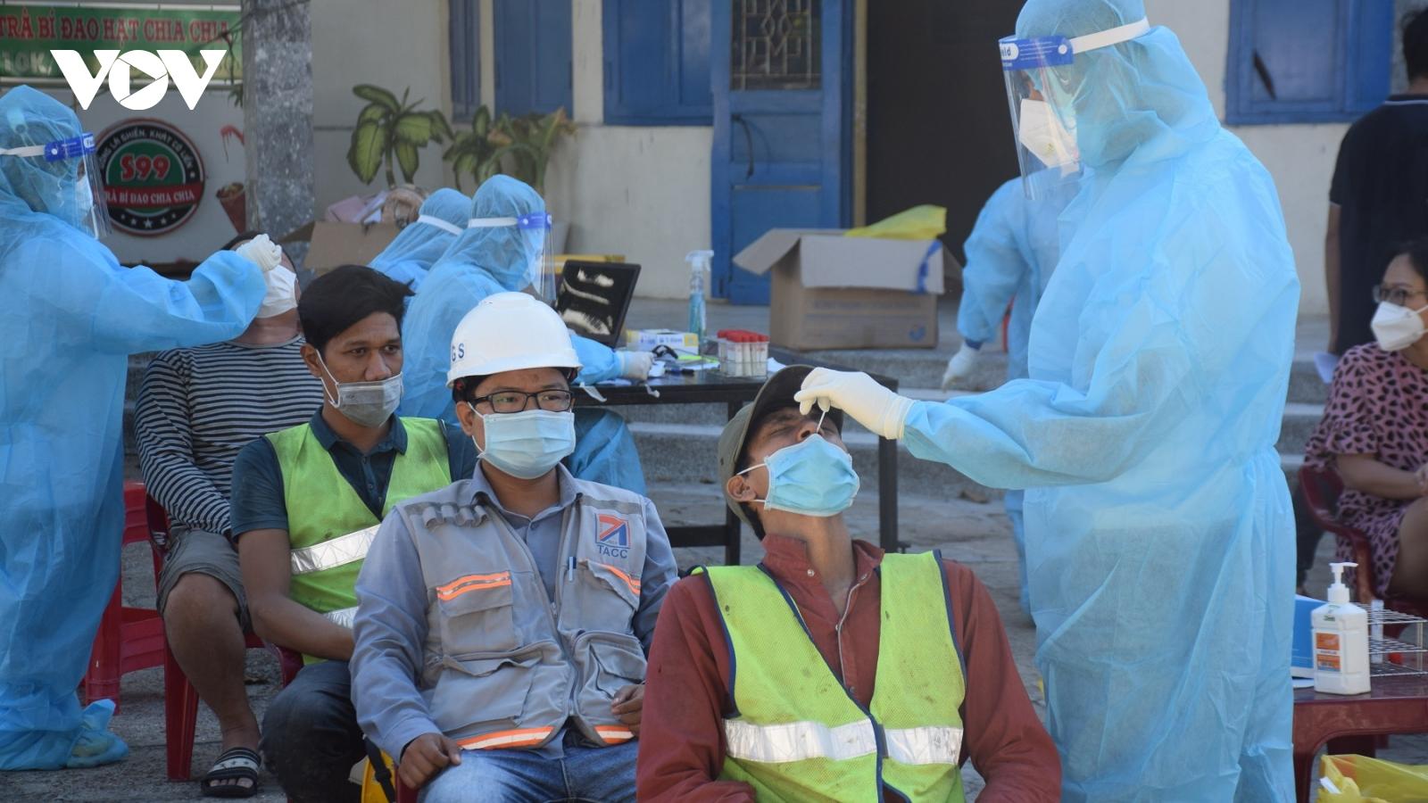 Phú Yên còn 3 xã, phường thực hiện giãn cách xã hội theo Chỉ thị 16