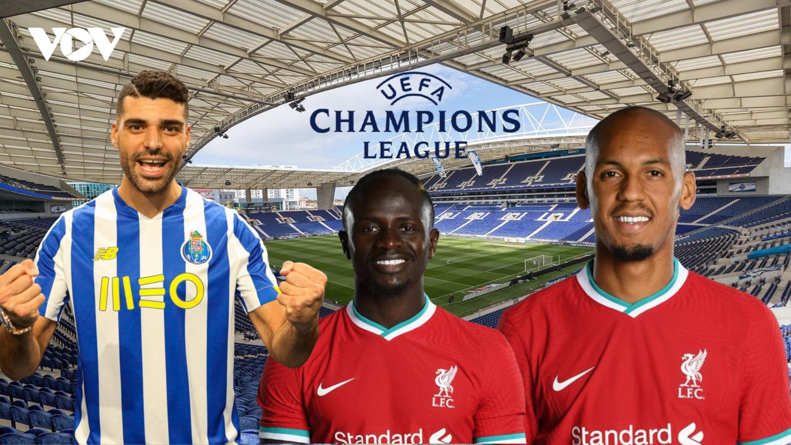 Dự đoán kết quả, đội hình xuất phát trận Porto – Liverpool