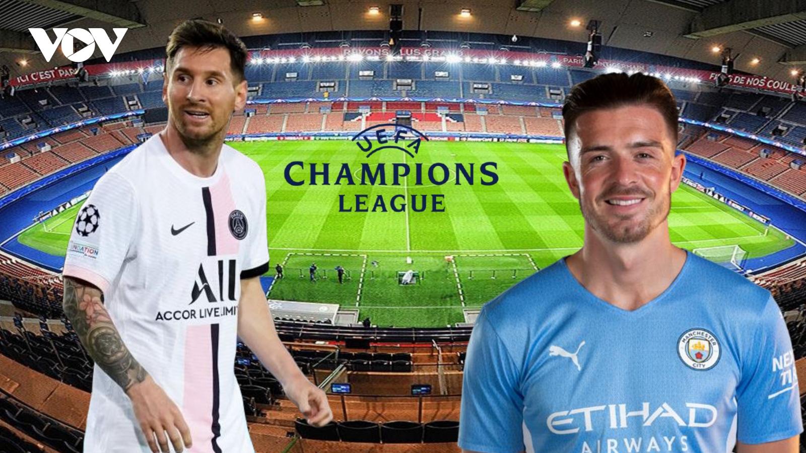 Dự đoán kết quả, đội hình xuất phát trận PSG - Man City