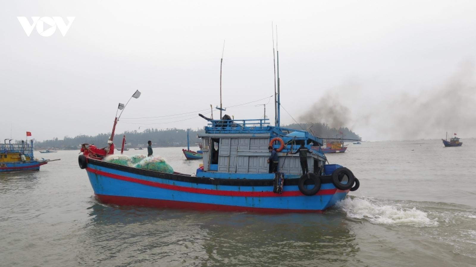Quảng Ngãi nghiêm cấm tất cả tàu thuyền ra khơi từ 11h ngày 23/9