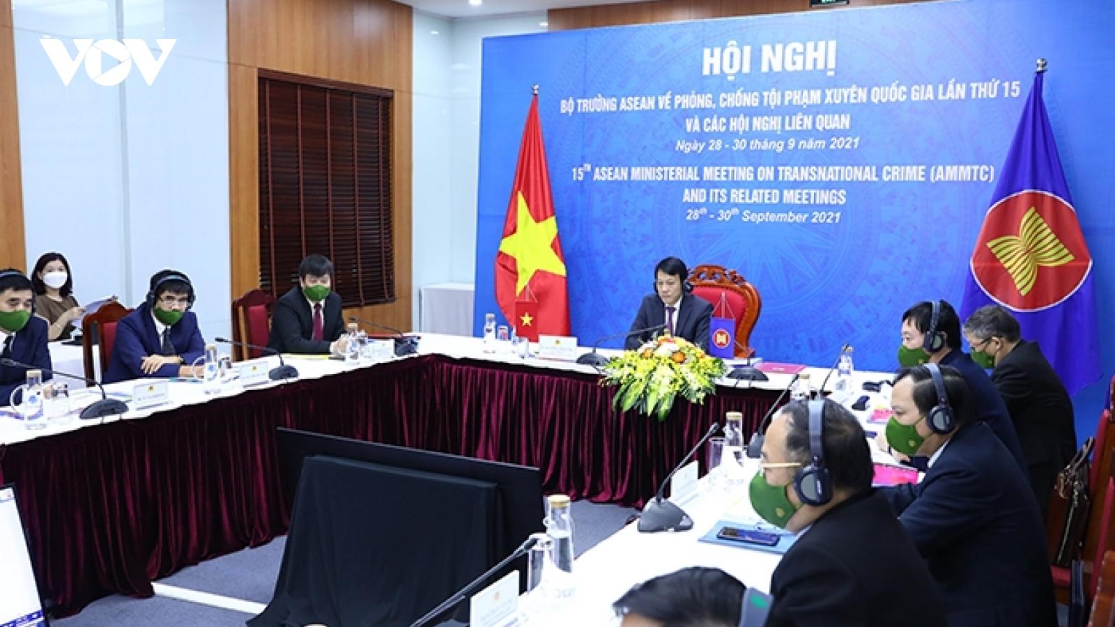 Bộ trưởng các nước ASEAN cam kết hợp tác phòng, chống tội phạm xuyên quốc gia hậu Covid-19