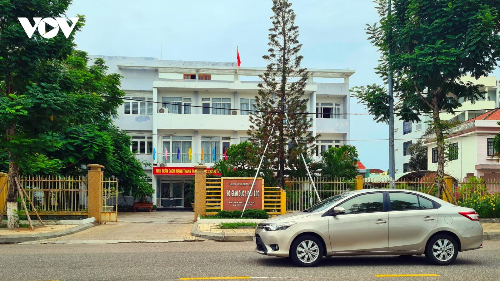 Quảng Nam yêu cầu Giám đốc Sở GD-ĐTgiải trình việc luân chuyển giáo viên