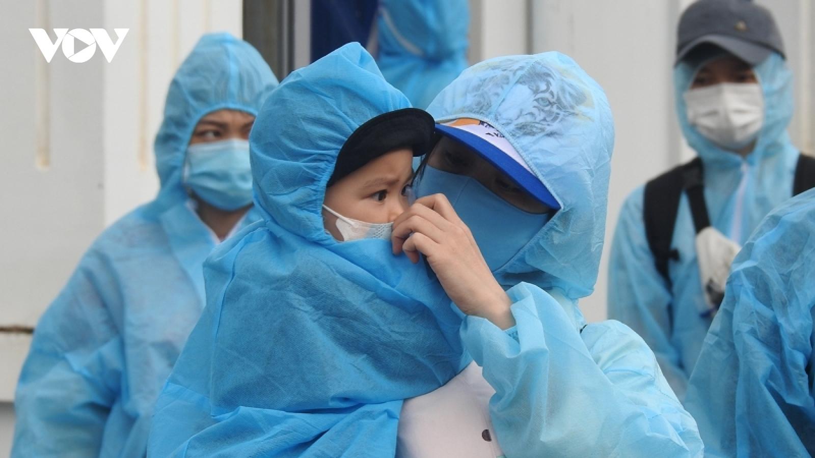Kon Tum đón 269 công dân từ vùng dịch COVID-19 phía Nam