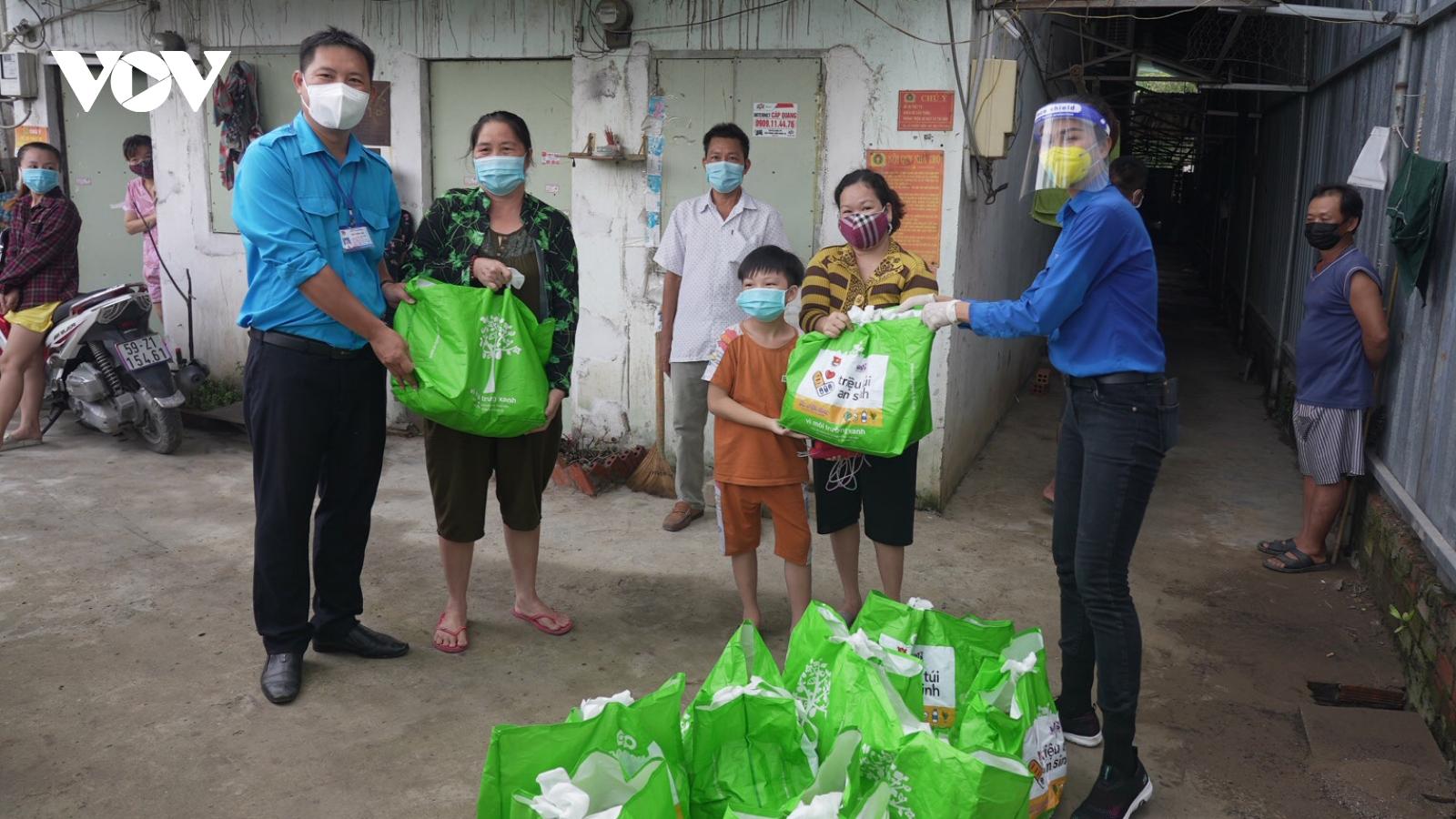 Đã trao gần 470 ngàn túi an sinh tới người dân bị ảnh hưởng bởi dịch bệnh
