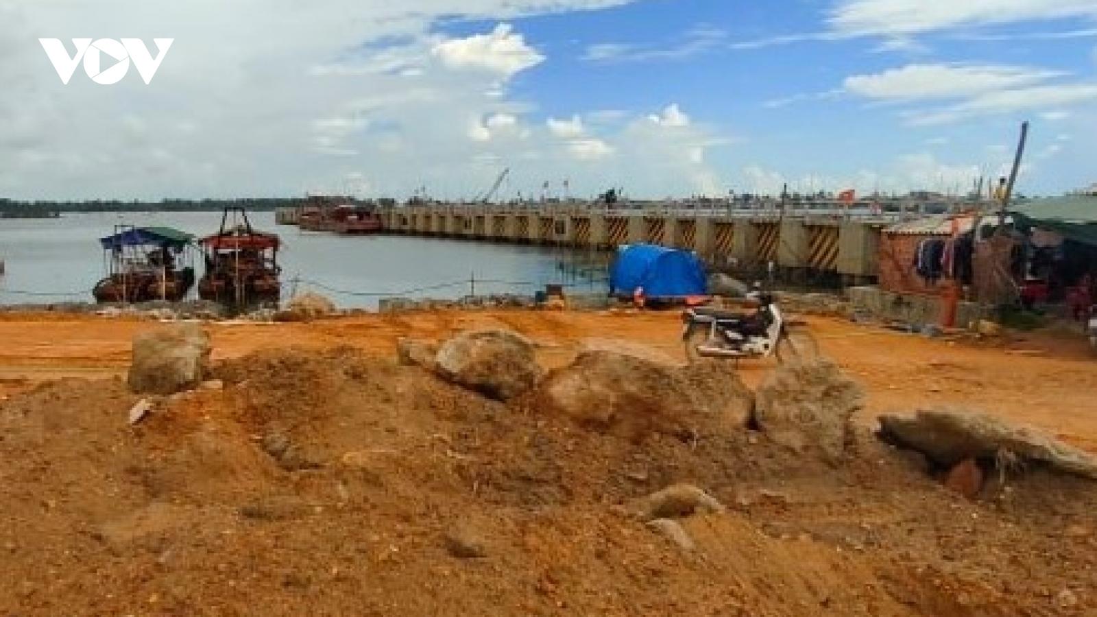 """Dự án """"Xây dựng, nâng cấp cơ sở hạ tầng nghề cá"""" ở Thừa Thiên Huế chậm tiến độ"""