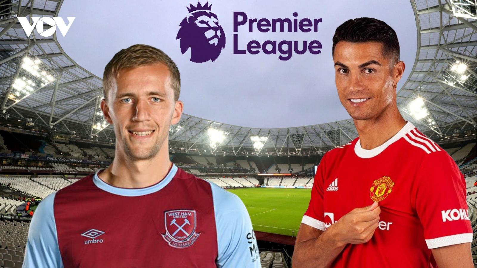 Dự đoán kết quả, đội hình xuất phát trận West Ham - MU