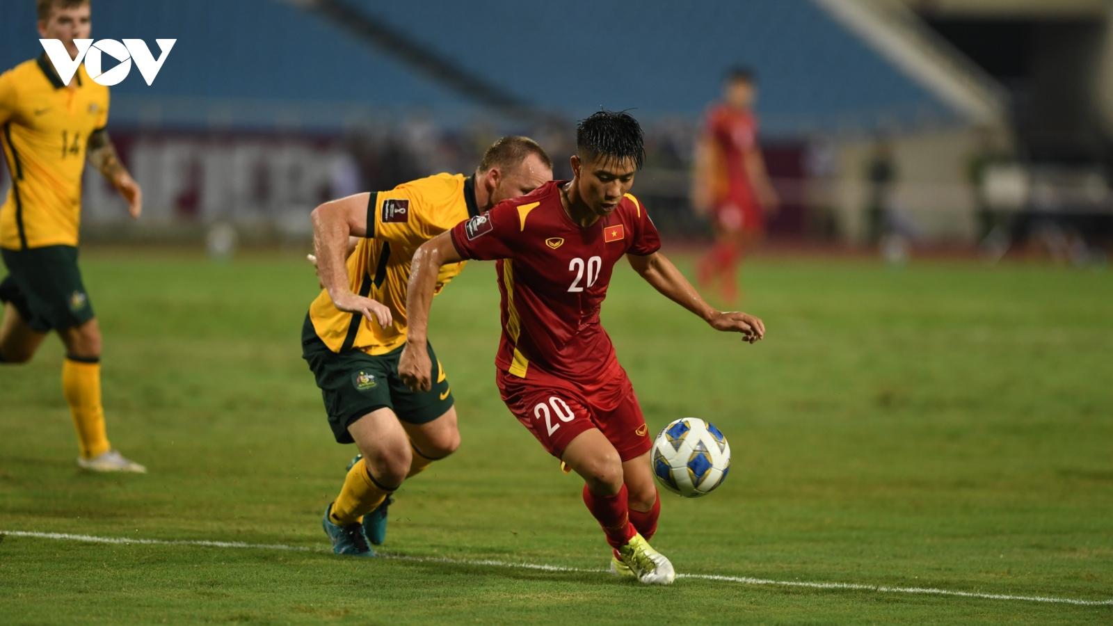 VAR từ chối phạt đền, ĐT Việt Nam thua sít sao trước Australia trên sân Mỹ Đình