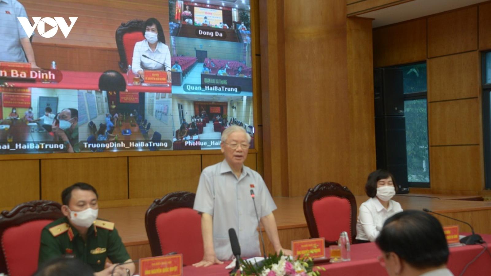 Tổng Bí thư: Cả nước cần đoàn kết, thống nhất ý chí quyết tâm cao để vượt qua khó khăn