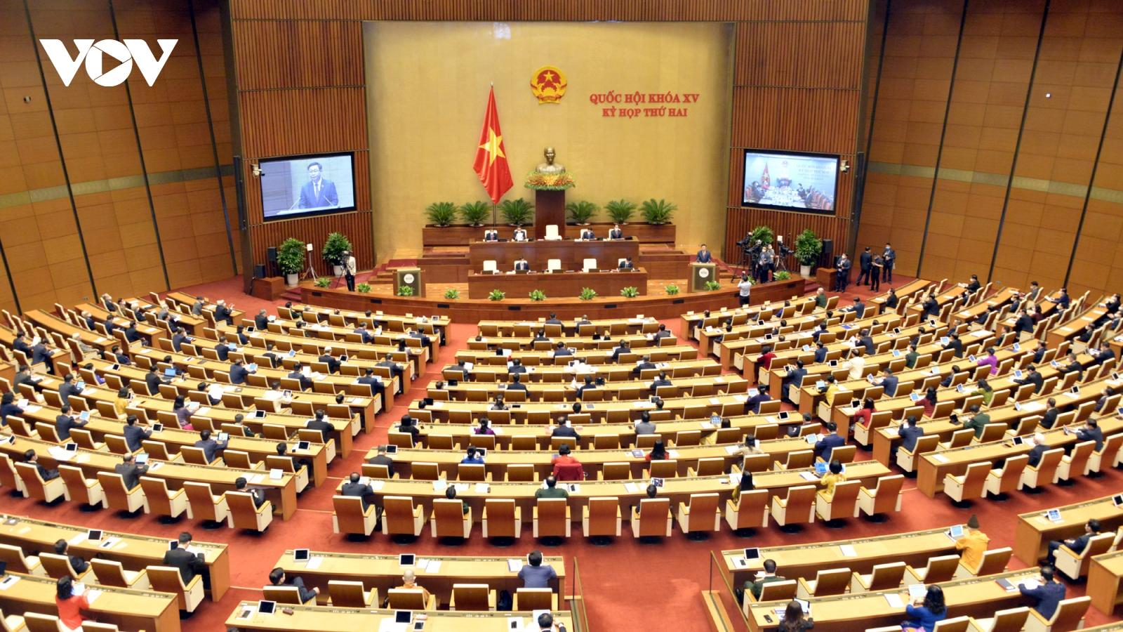 Khai mạc Kỳ họp thứ 2 Quốc hội khóa XV