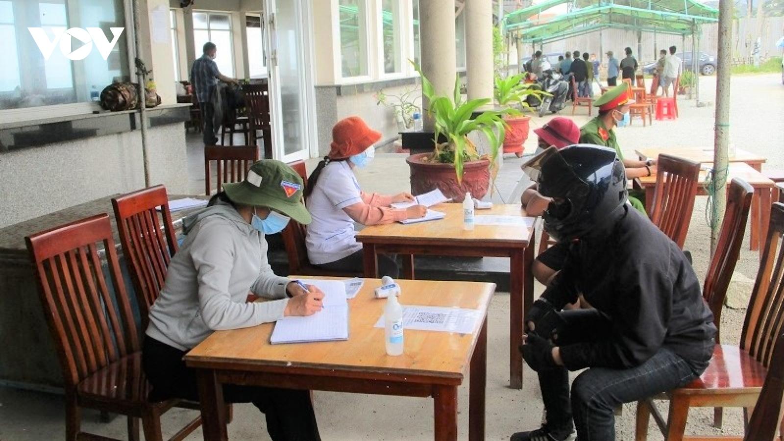 Ninh Thuận dừng hoạt động các chốt kiểm dịch COVID-19 liên tỉnh
