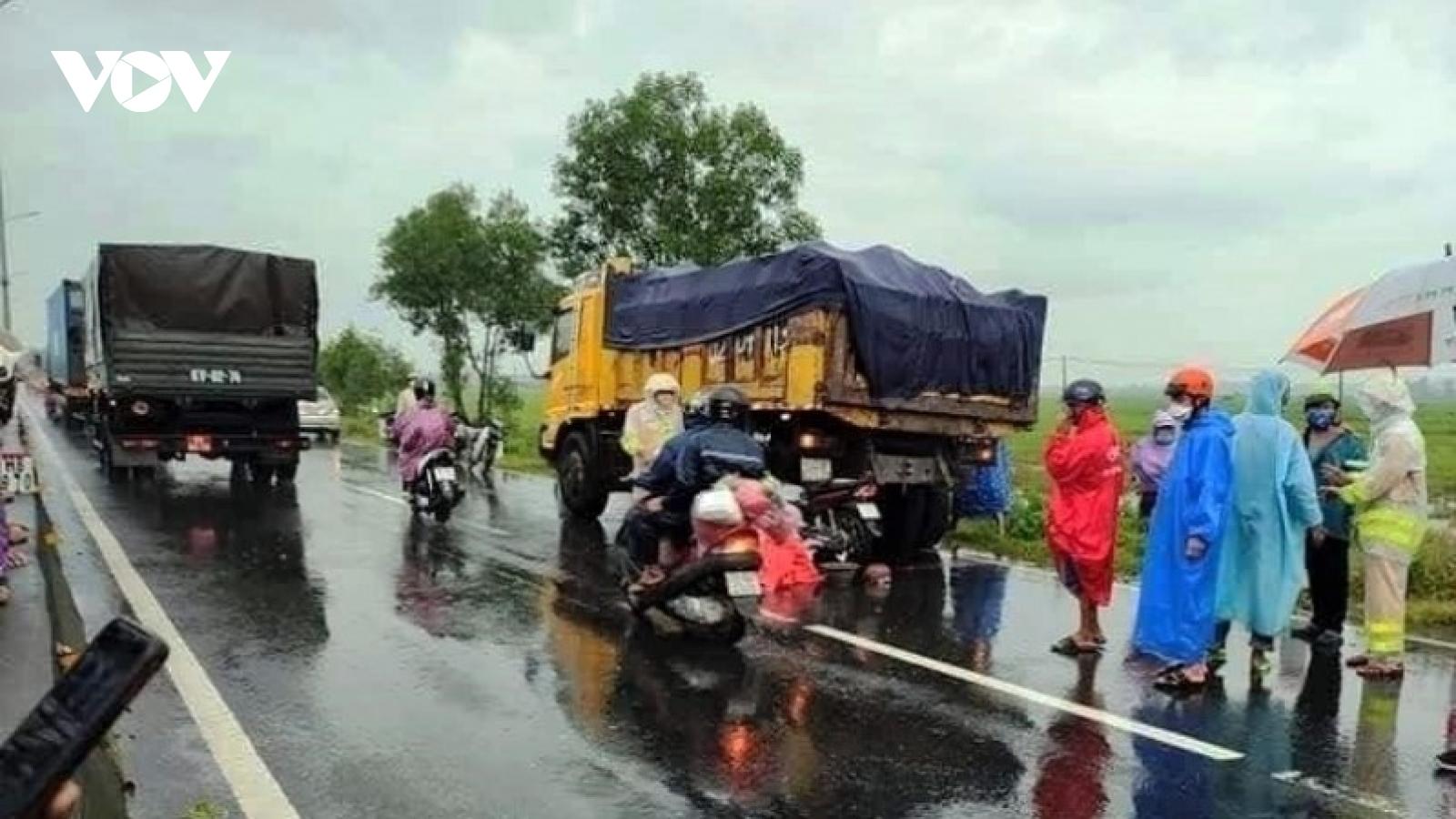 Một người tử vong do tai nạn giao thông trên đường về quê tránh dịch