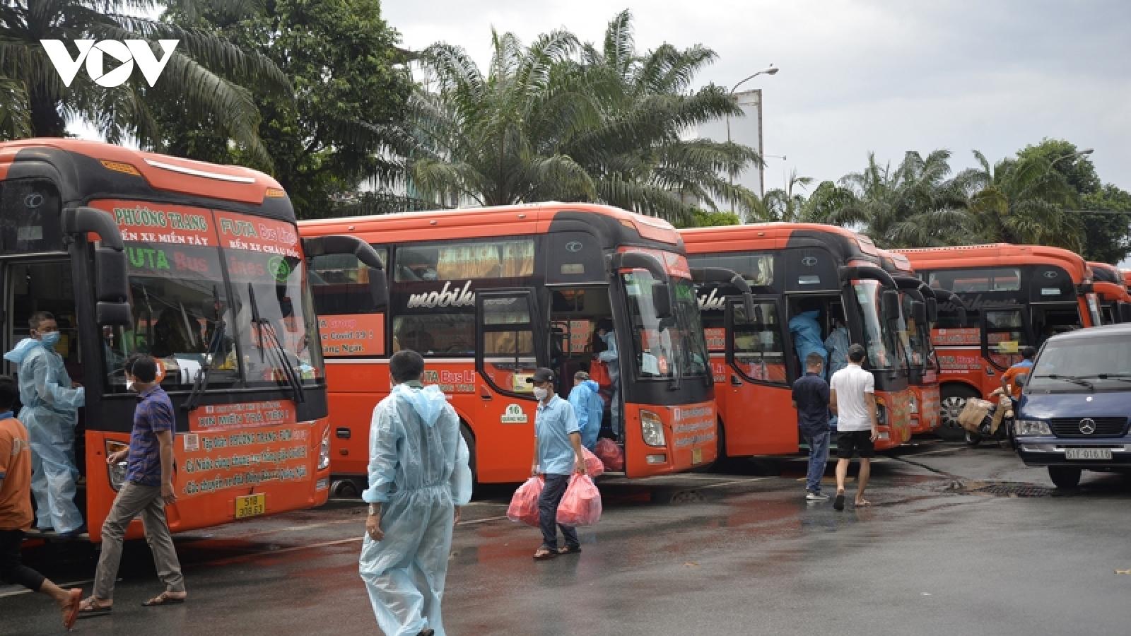 Mong sớm có chuyến xe 0 đồng kết nối TP.HCM và 21 tỉnh, thành phố
