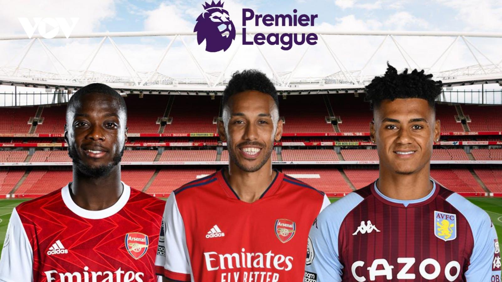 Dự đoán kết quả, đội hình xuất phát trận Arsenal - Aston Villa