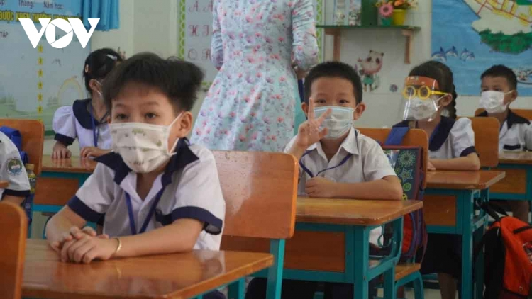 First HCM City school reopens the door to pupils as COVID-19 under control