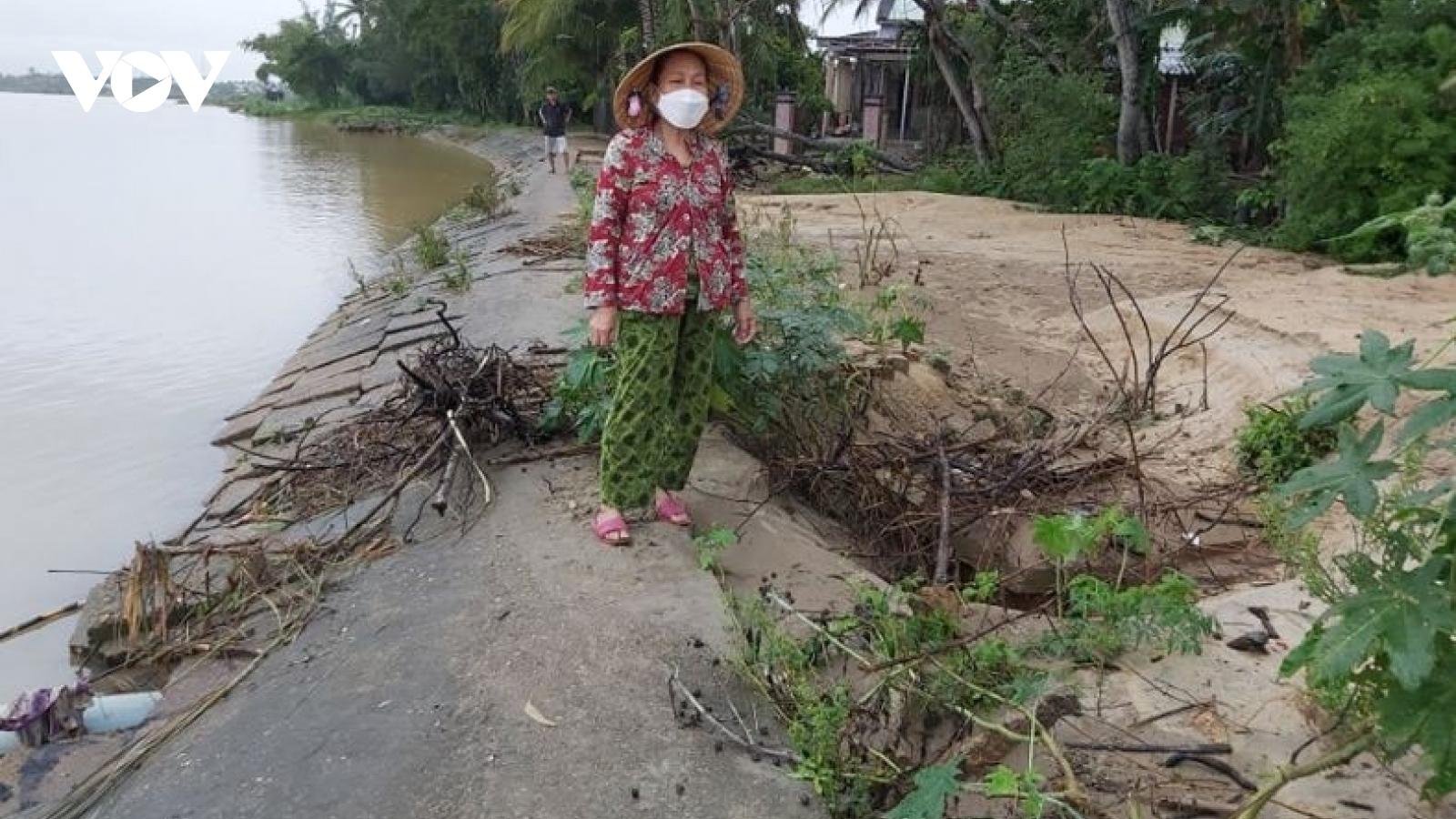 Gần 2.400 hộ dân ở Quảng Nam trong vùng nguy cơ sạt lở