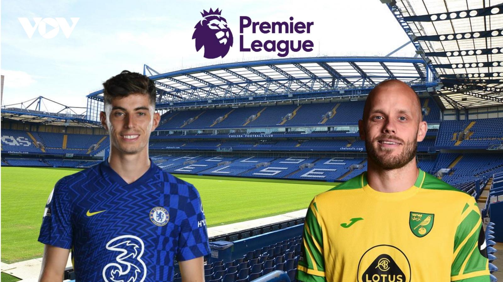 Dự đoán kết quả, đội hình xuất phát trận Chelsea - Norwich