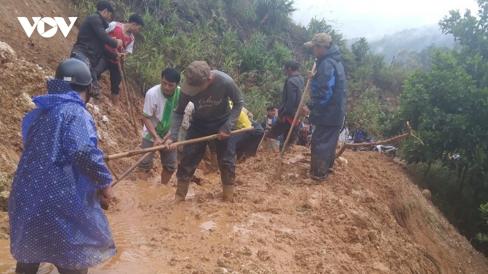 Quảng Nam khắc phục hậu quả mưa lũ trong điều kiện dịch Covid-19 diễn biến phức tạp